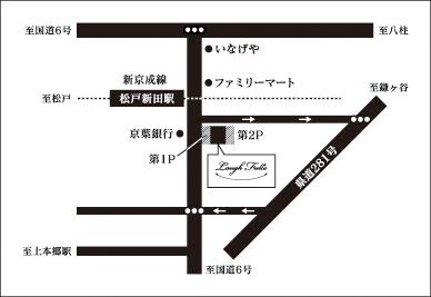 リゾートレストランラッフル-アクセスマップ